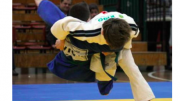 Young Mingara Judo Academy athletes in action. Image Kido Mingara Judo website
