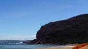The Killcare beach rock platform