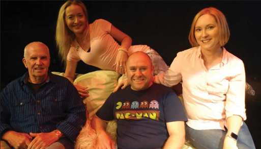 Mark Austin, Susannah Bonnor, Kellie Martin and Duncan Mitchell will star in Woy Woy Little Theatre's production of Sylvia