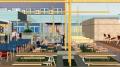 Artist's impression of new beer garden