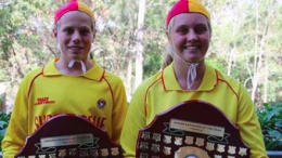 Oscar Crowe and Sophie Burns are the 2017-18 NSW Junior Lifesavers of the Year