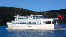 Star Ship Cruises in the Ettalong Channel. Image: supplied by Star Ship Cruisies