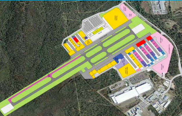 Best leads the charge for airport business park central coast news the stage 7 blueprint in the latest masterplan for warnervale airport malvernweather