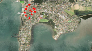 Gosford East Developments - Locations not exact. See map reference in report.