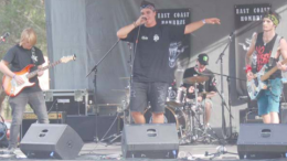 Hombres were one of the bands that took to the stage at the 2018 GOATS Festival