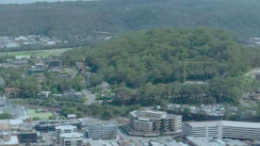 Gosford from the air