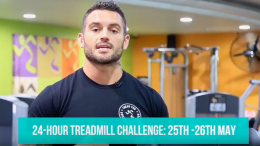 The 24 hour treadmill challenge to raise funds and awareness around suicide.