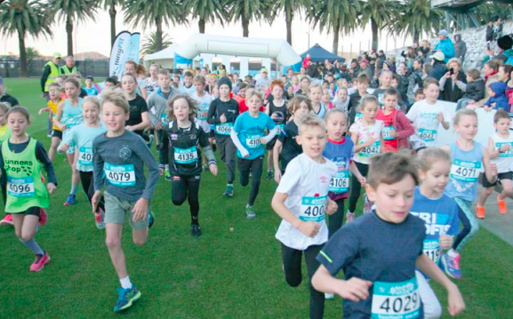 The kids got in on the action with the 3km Kids' Fun Run