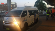 The Woy Woy bus-on-demand trial at Woy Woy station