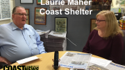 Laurie Maher, retiring CEO of Coast Shelter talks frankly about growing homeless on the Central Coast