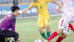 Mario Shabow as a Young Socceroo