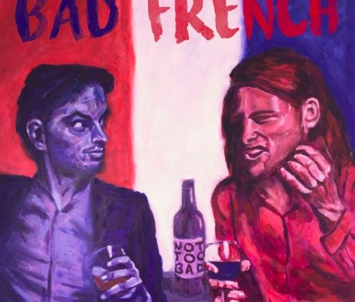 The Bad French launch cover. Image supplied.