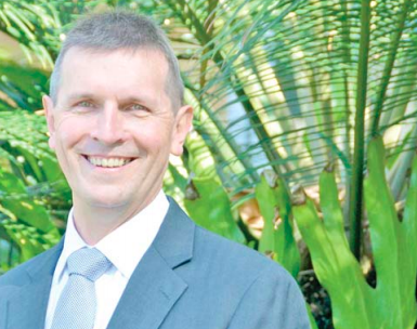 Central Coast Council's new CEO, Gary Murphy