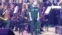 Narara PS soloist Cameron B, performed exquisitely at the Festival of Instrumental Music