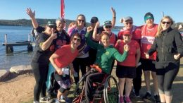 Member for Gosford Ms Liesl Tesch, was just one of many people who enjoyed Woy Woy's Parkrun