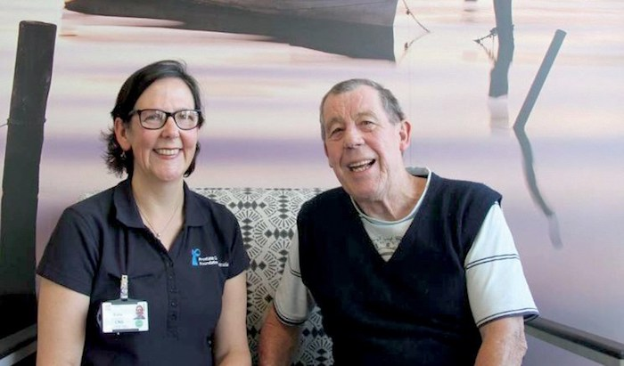 Men on the Central Coast with prostate cancer now have a specialist nurse solely dedicated to helping them and their families.
