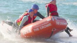 Terrigal SLSC members in action during the IRB Premiership and State Championships