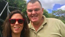 Researcher Marnie Graham and Indigenous tourism operator Tim Selwyn