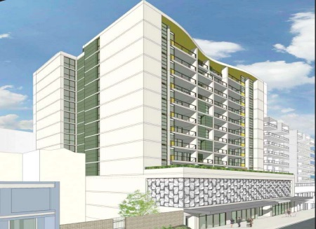 Plans for the mixed use development at 277 to 279 Mann St, Gosford
