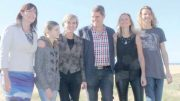 Member for Robertson, Lucy Wicks, with Central Coast Councillor, Jilly Pilon and husband, Mic Pilon their children, Fletcher and Gabbi and Julie Bishop, Minister for Foreign Affairs