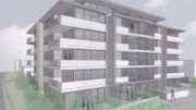An artist's impression of the proposed Dunleigh St affordable housing development