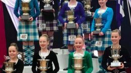 Highland Dance Age Champions 2108 at Niagra Park Stadium