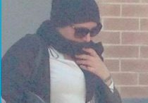 The accused hit and run driver leaving Wyong Courthouse Photo; ABC Central Coast