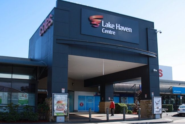 Lake Haven Shopping Centre. Image: VisitNSW
