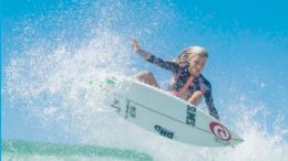 Shelly Beach surfer and local high school student, Molly Picklum, has had an amazing July