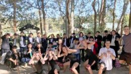 Northlakes High School students treated their Japanese friends to a range of Australian cultural experiences