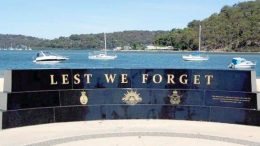 The Remembrance Day service will be held at the Vietnam Veteran's Memorial on the Ettalong waterfront 2018