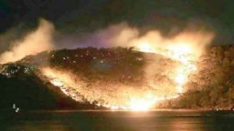 [Report]A bushfire which started on August 15 has destroyed nine hectares of bushland in the Bouddi National Park. A total fire ban had been declared for the Central Coast on the day.