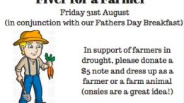 Empire Bay Public School year 6 will hold a fund raising event for farmers.