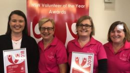 Central Coast Region Volunteers of the year 2018.