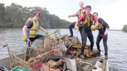 """Clean4shore is also nominated in the National Landcare """"People's Choice"""" Award"""