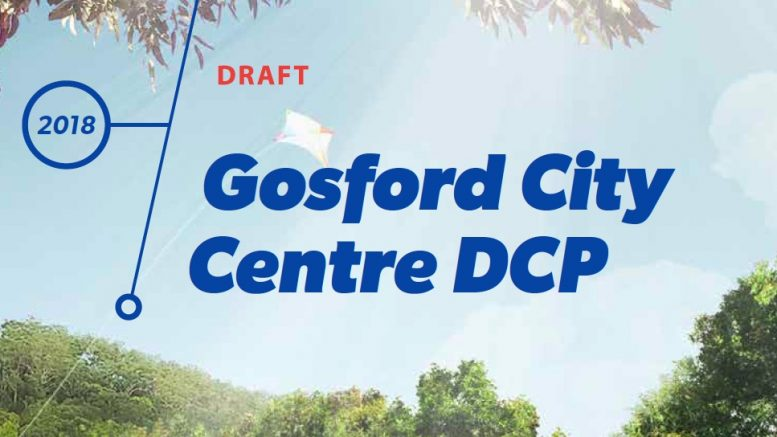 Cover Image of the draft Gosford DCP 2018.