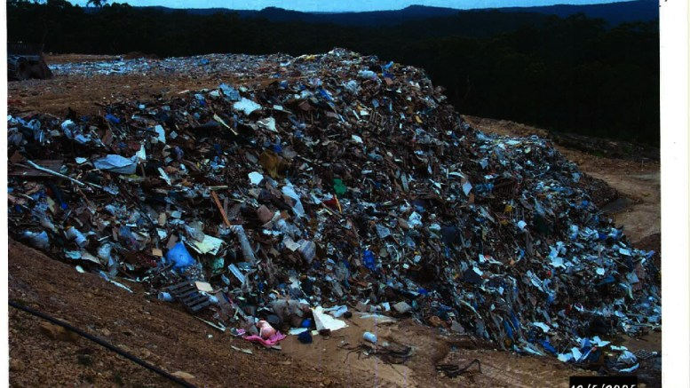 The landfill, approved for clean fill in 2005
