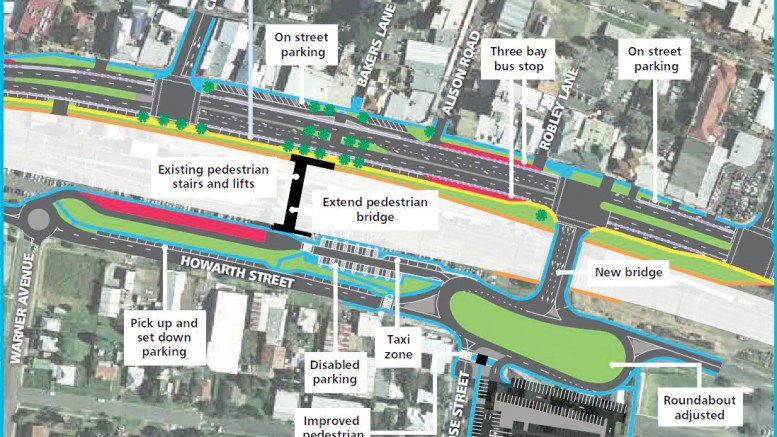 A 2016 plan for the Wyong Town Centre Project including moving transport interchange and car park to east of the station