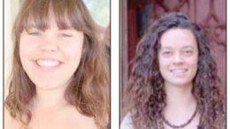 Shana O'Brien & Naomi Jones received Bouddi Foundation scholarships
