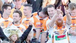 2018 Rugby League Premiers, The Entrance Tigers