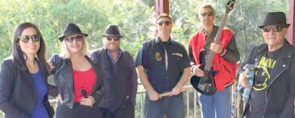 The band Wattage will be one of the features at Brackets and Jam in September.