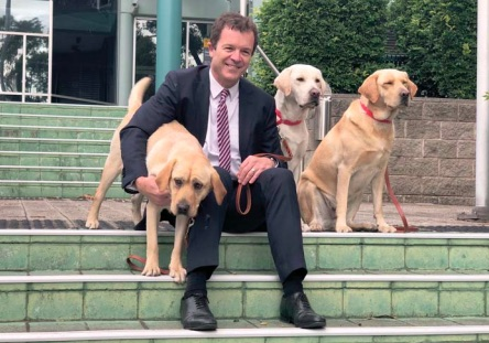 Attorney General, Mark Speakman, first announced the Gosford program on the steps of Gosford Courthouse in June.