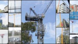 Cranes in the sky around Gosford CBD signalling a boom time.
