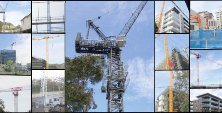 Cranes in the sky around Gosford CBD signalling a boom time.