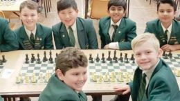 Central Coast Grammar School's Junior School Chess Club