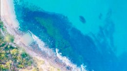 MacMasters Beach was rated one of the Coast's best swimming sites in the 2017-18 Central Coast State of the Beaches Report Photo: Central Coast Drones