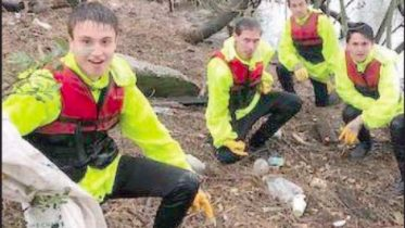 Narara Valley High School students have been mainstays of the Clean4Shore program
