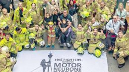 Ourimbah RFS are taking part in the 2018 Fire Fighters Climb for Motor Neuron Disease event