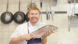 Pearls on the Beach owner and head chef, Mr Scott Fox