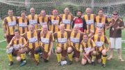 The Umina Eagles Over 35Bs took out their grand final
